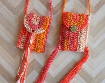 PDF Kidogo Bag Necklace Crochet Pattern