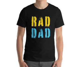 f1eaf699 Rad Dad Short-Sleeve Unisex T-Shirt