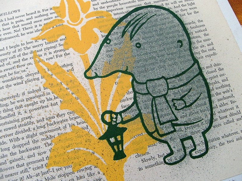 Mole from The Wind In The Willows LitKids Print