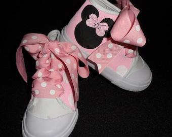 Minnie mouse shoe lace | Etsy