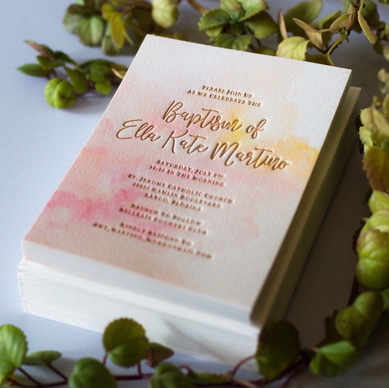 Vanilla Sky Invitations