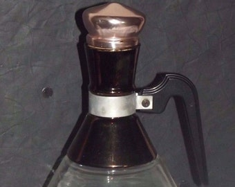 Vintage Pyrex Coffee Carafe with Cork Stopper