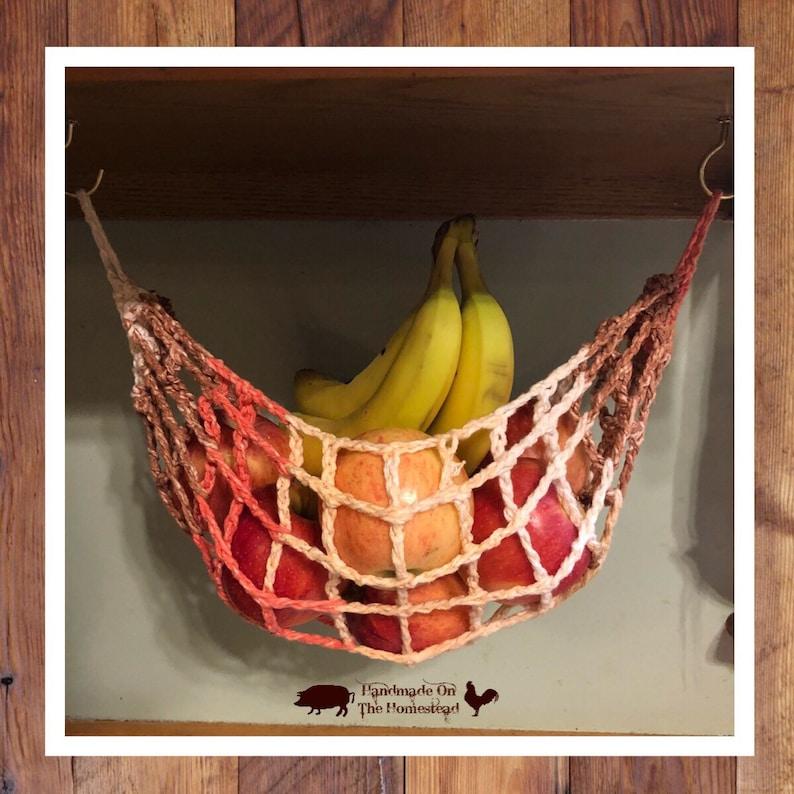 Obst-Hängematte Veggie Hängematte Netz Küche Lagerung | Etsy