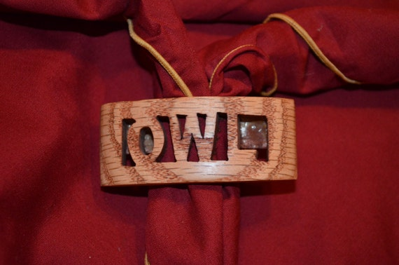 Solid Wood Owl Scout Neckerchief Slide Also Called A Woggle Etsy