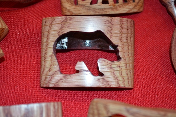 Wood Badge Bear Boy Scout Neckerchief Slide Also Called A Etsy