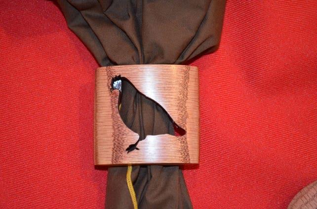 Wood Badge Bobwhite Neckerchief Slide Handmade Etsy