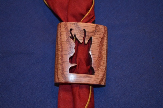 Boy Scout Wood Badge Antelope Neckerchief Slide Or Woggle Etsy