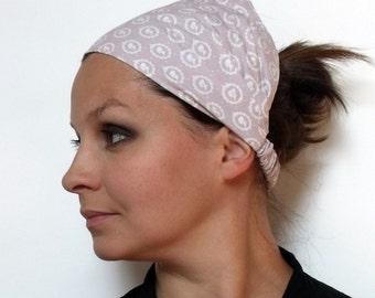 Yoga Headband - Girl Portrait Tilda fabric
