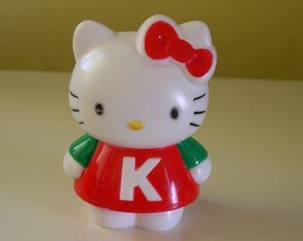 Vintage Hello Kitty Plastic Bank