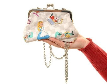Alice and Friends Evening Bag Purse and Clutch In One