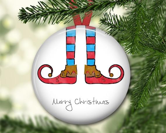 image 0 - Elf Legs Christmas Decoration