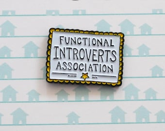 Functional Introvert Certificate Pin