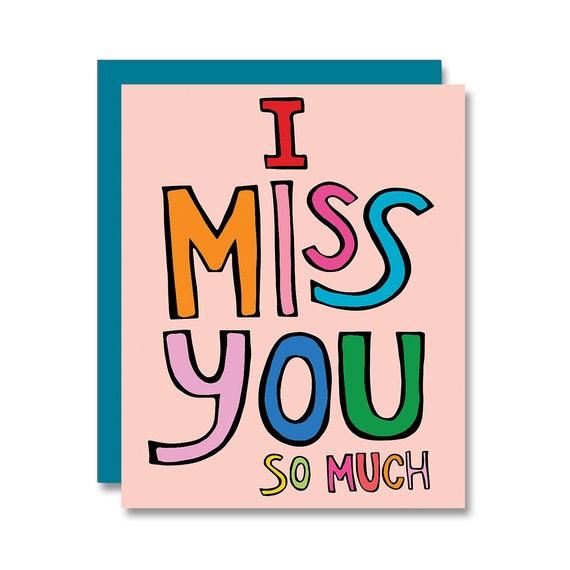 Ich vermisse dich so sehr brief