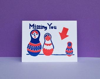 Matryoshka Missing You