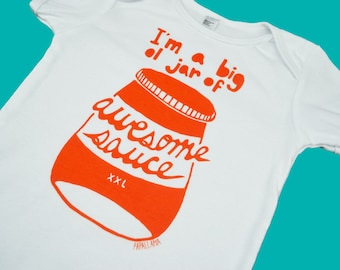 Awesome Sauce Baby One-Piece
