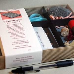 Coptic Bookbinding Kit Barcelona