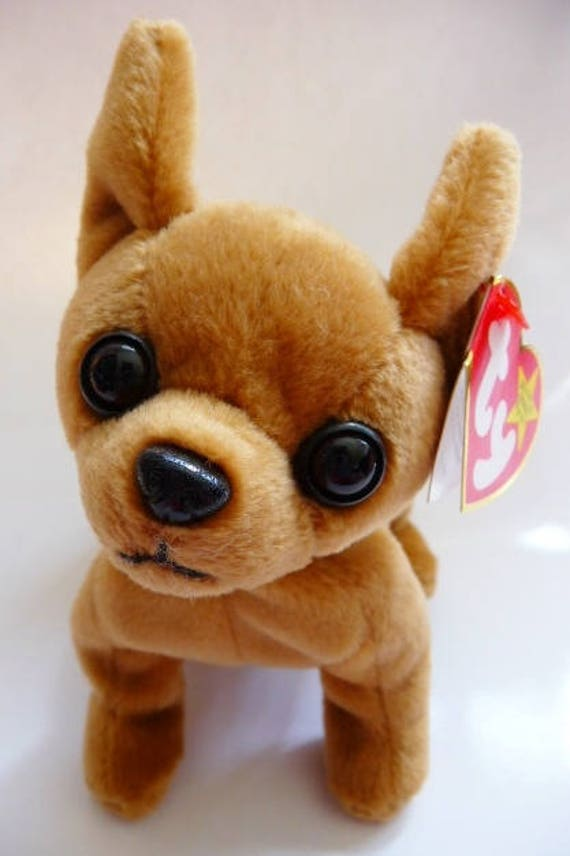 bb79f68d873 TY Original Beanie Baby Tiny the chihuahua retired dated