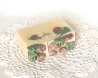 Lemongrass Rosemary Mint Soap | Lemongrass Soap| Soap | Handmade Exfoliating Soap | Heirloom Soap