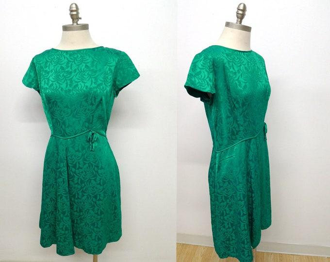 Stunning Vtg 60's Party Dress Size L