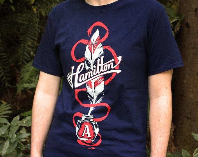 Hamilton Shirt | Musical Quill Hamilton T-Shirt musical quote shirt for Broadway musical theater fans | Hamilton Gift
