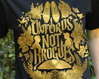 Kingsman Shirt, Oxfords Not Brogues