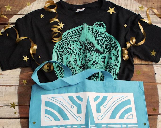 Avengers Gift Set   Thor Ragnarok Shirt and Valkyrie Bag