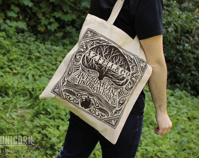 Good Omens Tote Bag | Good Omens Aziraphale Tote Bags
