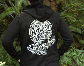 Wayward Sons and Daughters Supernatural Hoodie