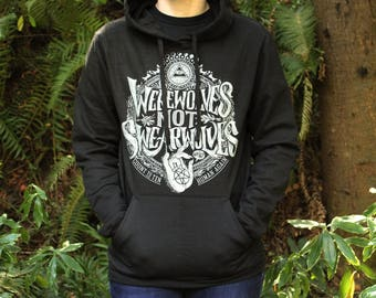 What We Do In The Shadows | Werewolves Not Swearwolves Pullover Hoodie