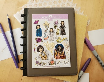 The Witcher Stickers | Yennefer of Vengerberg Sticker Sheet | Yennefer Stickers
