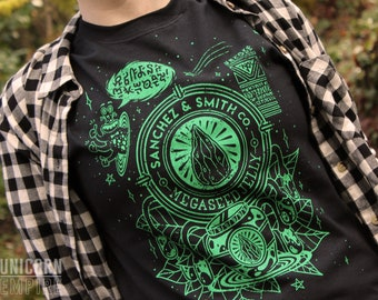 Rick and Morty Shirt | Sanchez & Smith Co. Megaseed Jelly Shirt