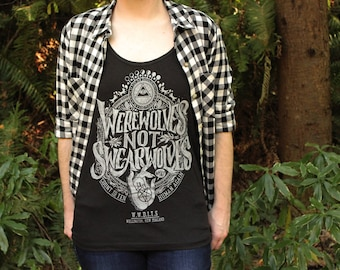 Women's Werewolves Not Swearwolves Tank Top