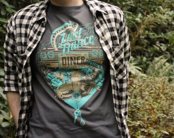 Sparrow Hill Road T-Shirt | Last Dance Diner Shirts and Tank Tops | Inspired by Seanan McGuire's Sparrow Hill Road