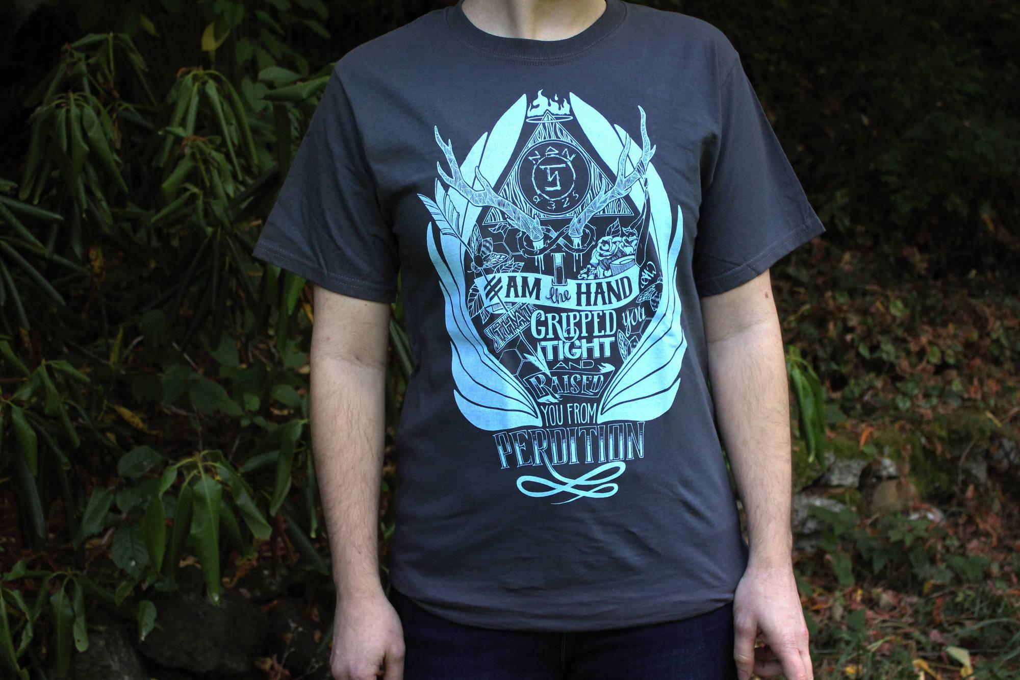 Supernatural Shirt Castiel Shirt Raised From Perdition