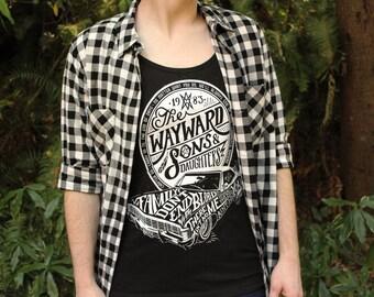 Supernatural Tank Top | Wayward Sons Tank Top | Sam and Dean Winchester Tanktop | Winchester Shirt