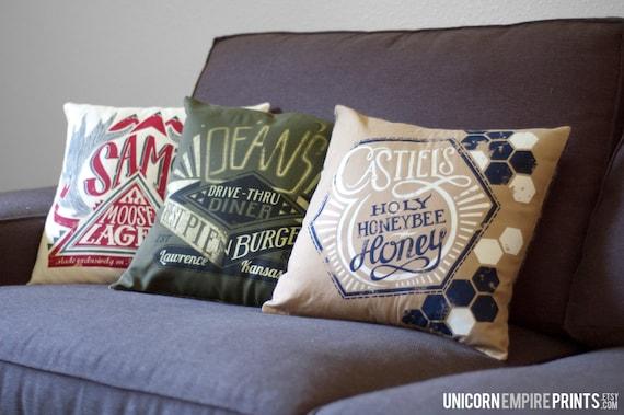 Supernatural Pillows Supernatural Home