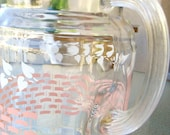 Pretty Vintage Glass Pitcher