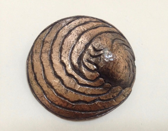 Unusual Signed Abstract Brooch – Lester Green 1960