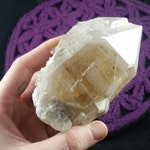 Elestial Frosted Citrine Quartz Crystal Raw Stones Terminated Crystals Natural Rare Unique light Brazil rough etched