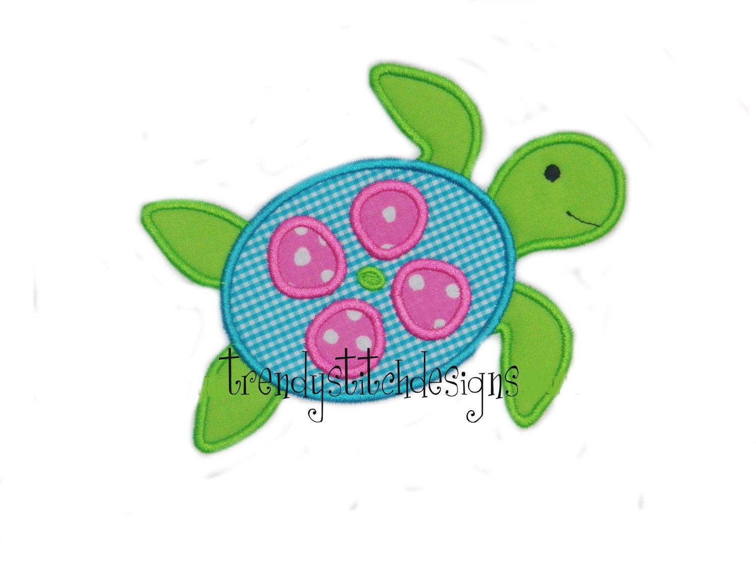 Sea turtle applique design machine embroidery design instant etsy