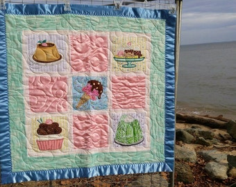 Just Desserts Applique Embroidery Quilt
