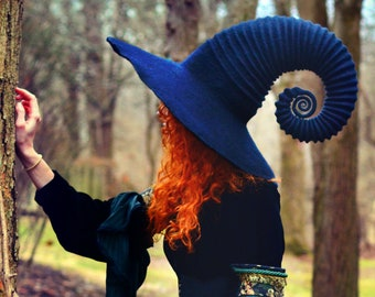 witch or wizard felted hat tutorial etsy