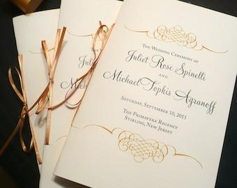 Jewish wedding program wedding program booklets blush and etsy wedding program booklet gold programs jewish wedding programs black and gold vintage wedding rachel anne wedding program sample maxwellsz