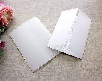 Clear Vellum Jackets For 5 x 7 Wedding Invitations, DIY Wedding Invitation Supplies