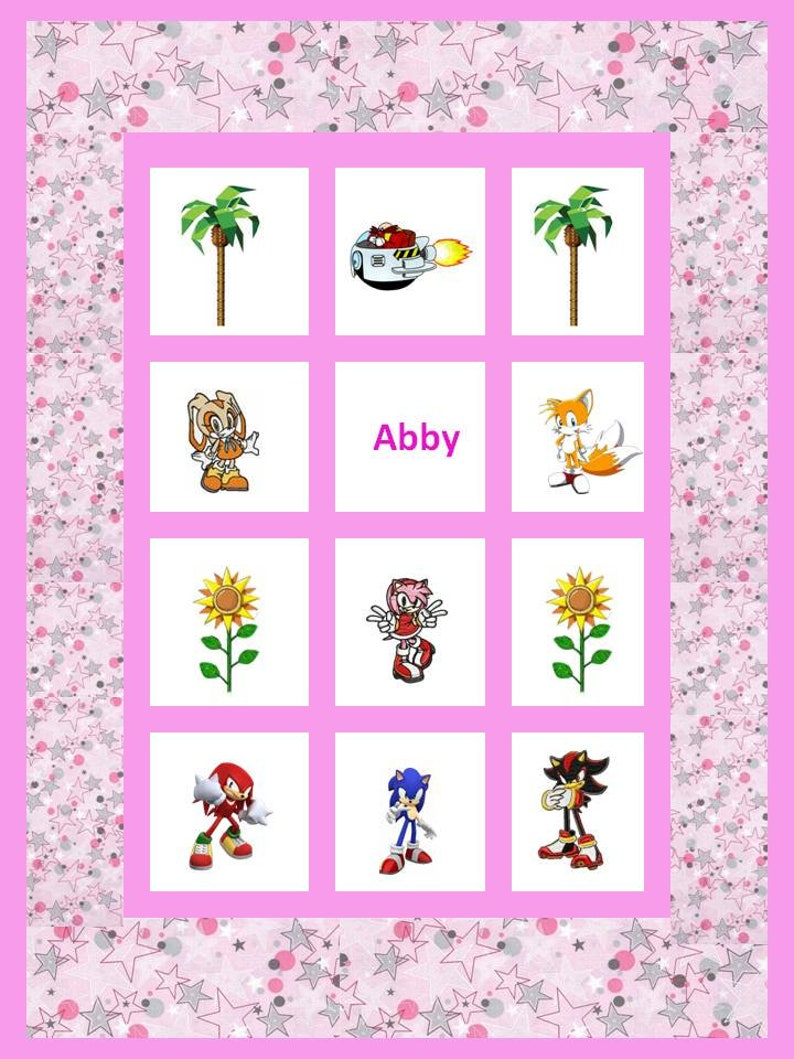 Amy Rose Sin Ropa sonic quilt - embroidered amy rose / sonic the hedgehog lap quilt - 46 wide  x 62 long - choose fabrics & images - mario characters available