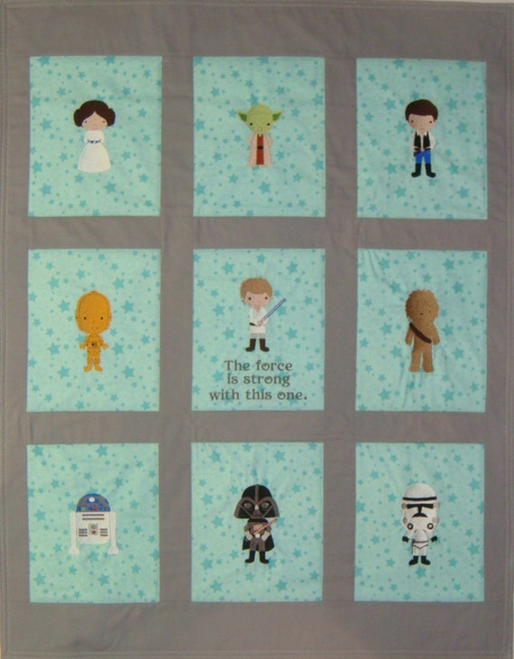 1 FINN HAN SOLO CHEWBACCA THE FORCE AWAKENS SEWING BLOCK QUILT FABRIC MATERIAL