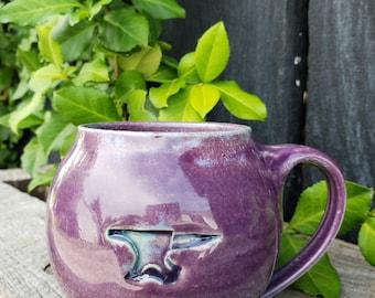 Round Coffee Mug by Marianne Brown