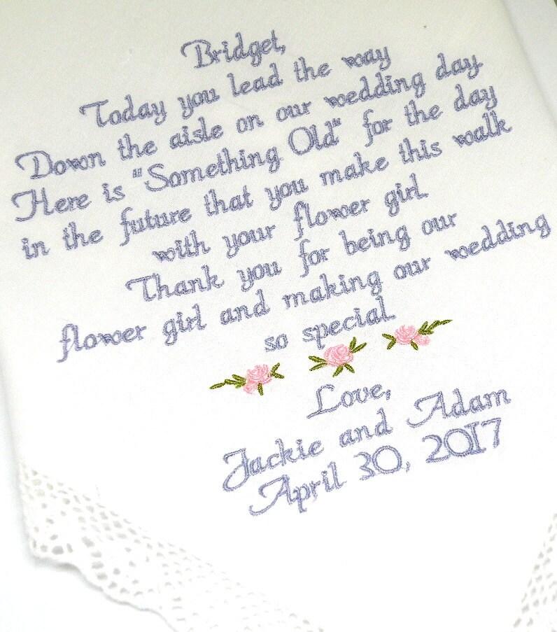 Flower Girl Gift Flower Girl Proposal Flower Girl Wedding Gift