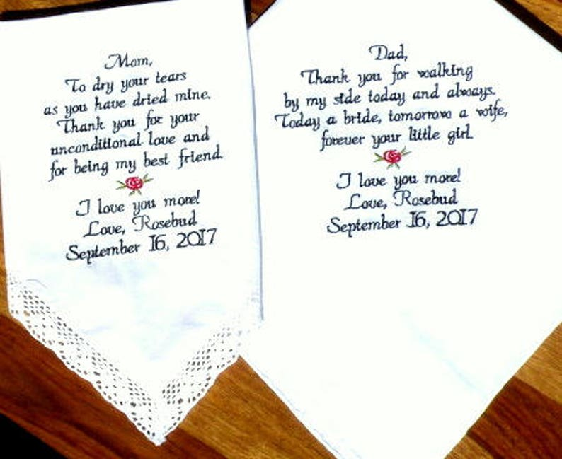 Wedding gift idea Mom and Dad from Bride and Groom Wedding image 0