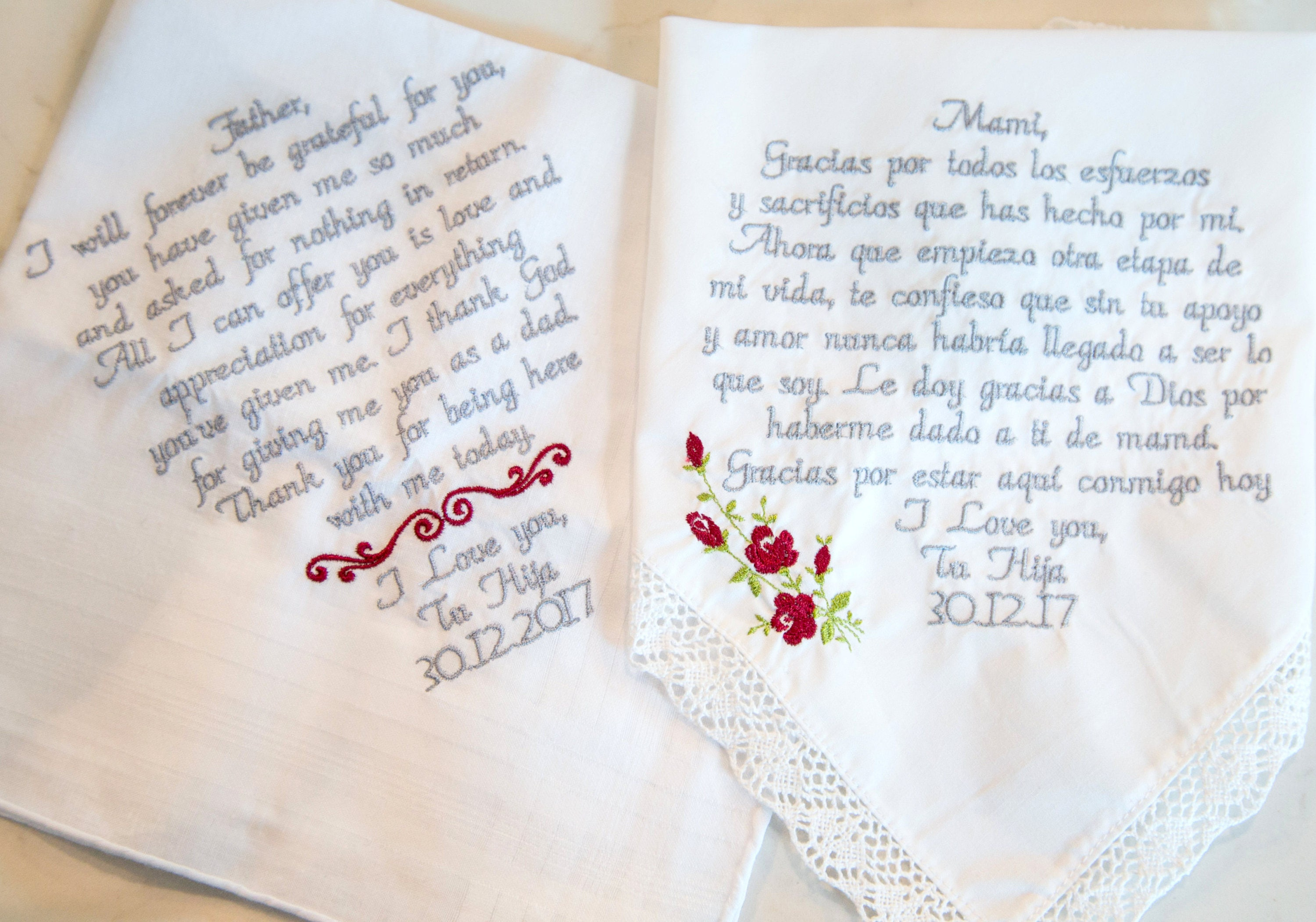 Wedding Day Gifts For Parents Mother And Father Of The Bride Mom